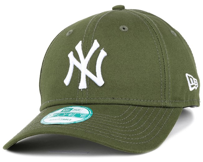 a8a887ff881 NY Yankees League Essential Green 940 Adjustable - New Era caps ...