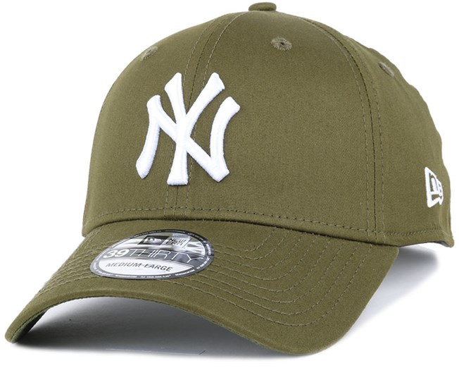 6ba86f80569 NY Yankees League Essential Rifle Green 39Thirty Flexfit - New Era ...