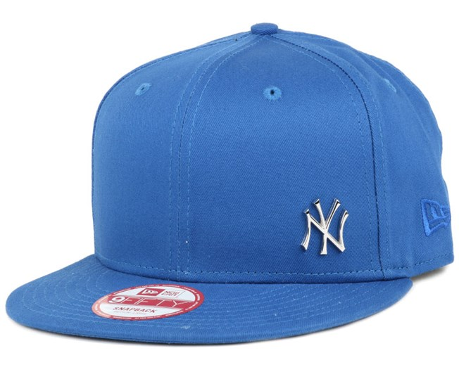 3b7f1b1b NY Yankees MLB Flawless Metal Blue 9Fifty Snapback - New Era caps ...
