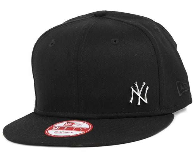 NY Yankees MLB Flawless Metal Black 9Fifty Snapback - New Era caps ... f7e355d94752