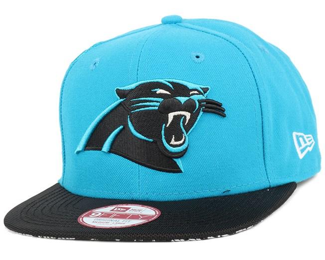 8ee40cd77 Carolina Panthers NFL Sideline 9Fifty Snapback - New Era cap ...