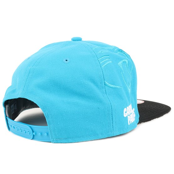97cf4670f Carolina Panthers NFL Sideline 9Fifty Snapback - New Era caps -  Hatstoreworld.com
