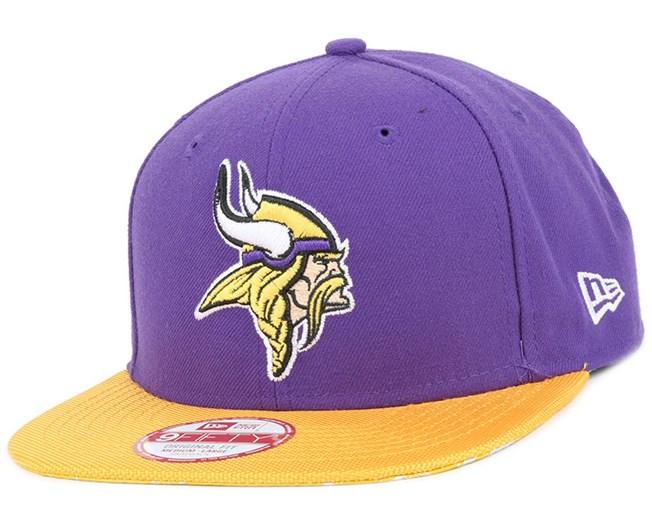 59f226a57d9 Minnesota Vikings NFL Sideline 9Fifty Snapback - New Era - Start ...