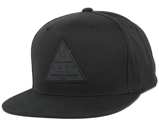 4db0bb64ee3 X Cap Black Snapback - Neff caps - Hatstoreworld.com