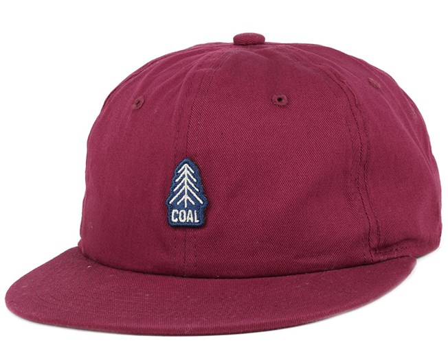 aaa6a989a16 The Junior Burgundy Snapback - Coal caps - Hatstoreworld.com