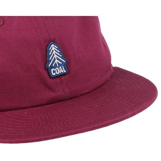 549ec0739e3 The Junior Burgundy Snapback - Coal caps - Hatstoreworld.com