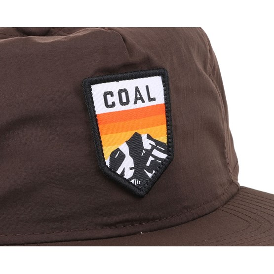 13c01e229f2 The Summit Brown Snapback - Coal caps - Hatstoreworld.com