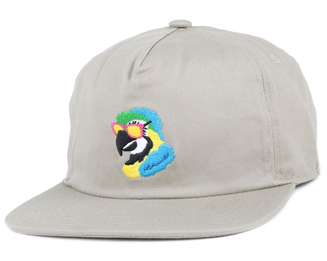 The Best Friend Khaki Snapback - Coal caps - Hatstoreworld.com b2b4405aa31c