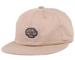 The Junior Khaki Snapback - Coal