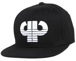 Icon Black Snapback - Pelle Pelle