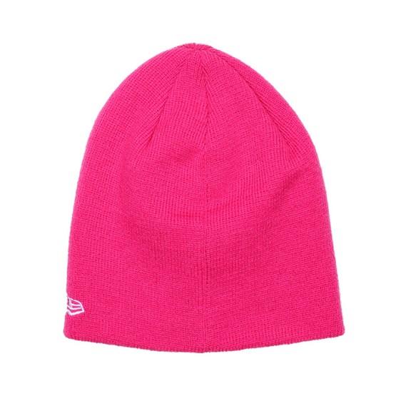 Kids NY Yankees Skull Pink Beanie - New Era beanies - Hatstoreworld.com 04eae2a00312