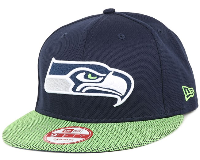 8738d4d6d47 Seattle Seahawks Visor Mesh 9Fifty Snapback - New Era caps ...