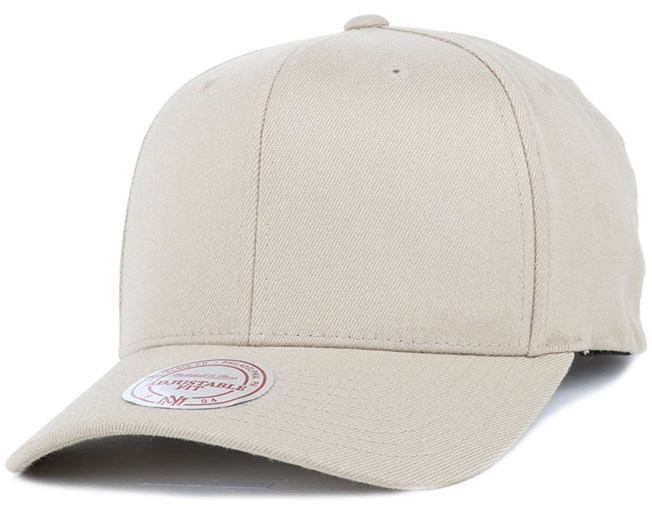 Solid Colour Low Pro Stretch Sand Adjustable - Mitchell & Ness