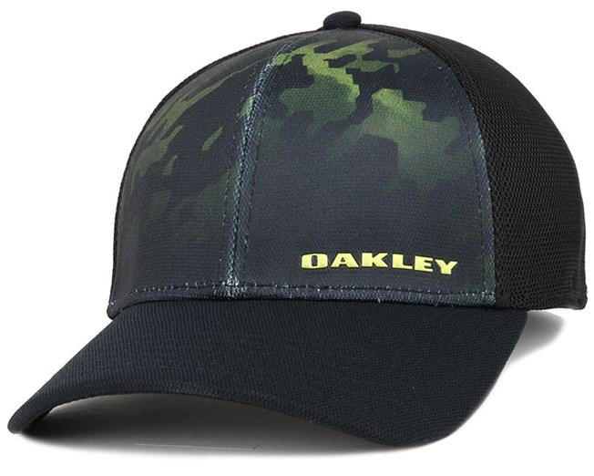 b11a74b2e4b Silicon Bark 4.0 Print Laser Flexfit - Oakley cap - Hatstore.co.in