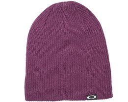 Backbone Deep Plum Beanie - Oakley