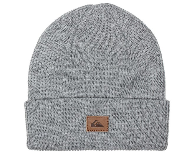 Performer Medium Grey Heather Beanie - Quiksilver beanies  65c68ef3015