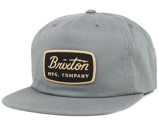 20d487b6908 Jolt HP Grey Snapback - Brixton caps
