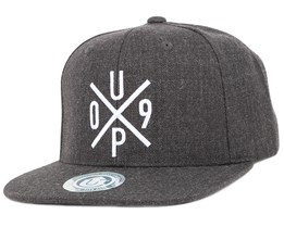 UP09 Dark Grey Melange Snapback - Upfront