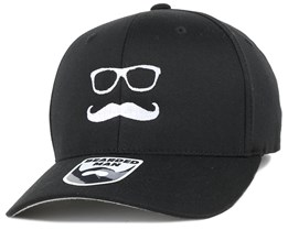 Mr. Mustache Black Flexfit - Bearded Man