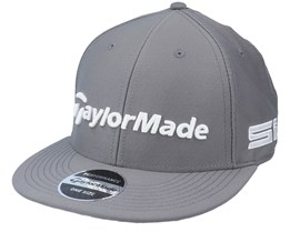 21 Tour Flat Bill Charcoal/White Snapback - Taylor Made