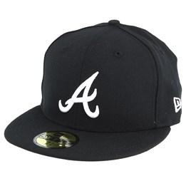 MLB BLACK New York Mets New Era 59Fifty Cap