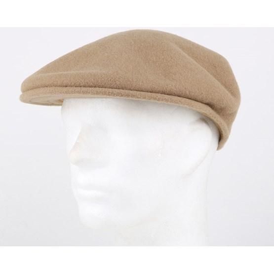 882aac339 Wool 504 Camel Flat Cap - Kangol