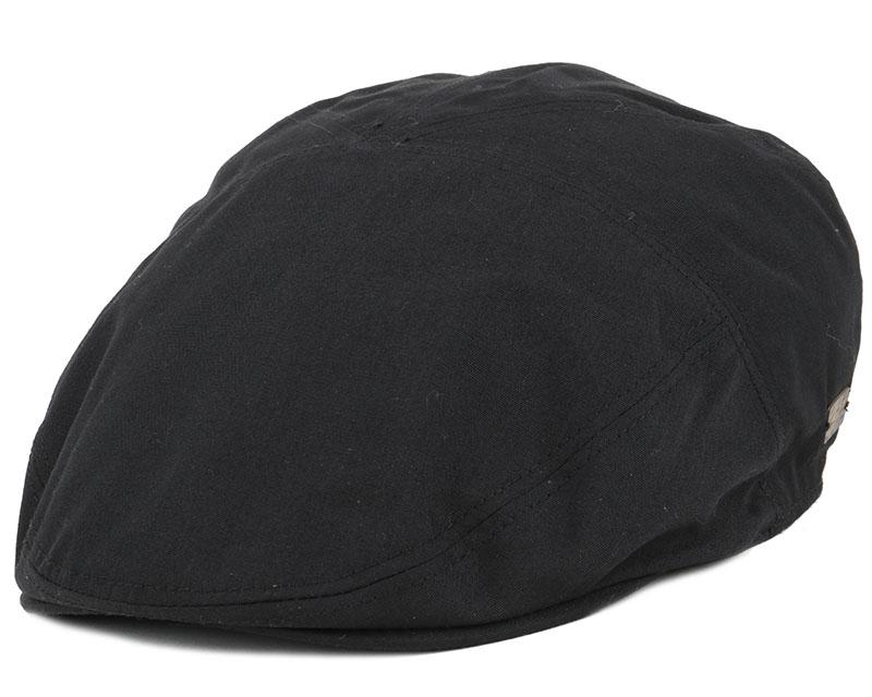 Graham Black Flat Cap Bailey