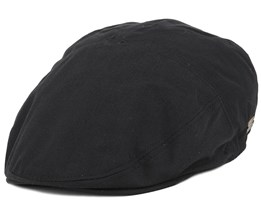 Graham Black Flat Cap - Bailey