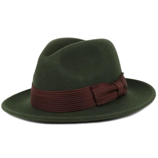 Nelson Moss Fedora Brixton Hats Hatstore Co Uk