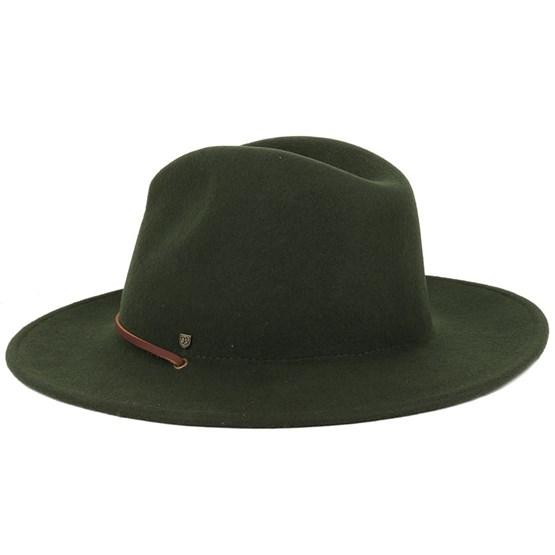 Field Hat Moss Fedora - Brixton hats - Hatstoreworld.com 15830f975d08
