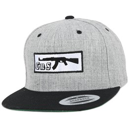 98644a71fe5 GUNS n SKULLS Box-AK47 Grey Black Snapback - GUNS n SKULLS CA  19.00 CA   37.99. Burton Home Team ...