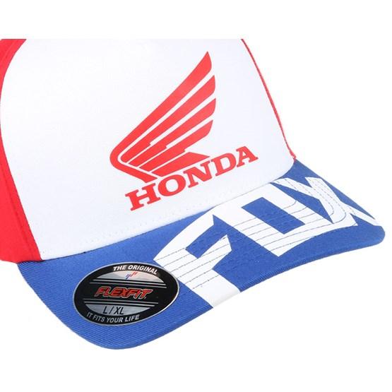 Honda Basic Red White Flexfit - Fox caps  447eb7d7984