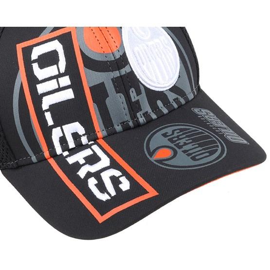 Edmonton Oilers Cool N Dry Adjustable Reebok Caps