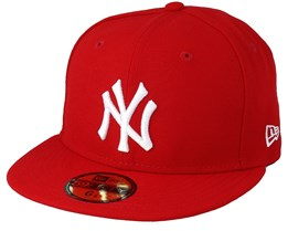 New Era - MLB Basic NY Yankees Scarlet