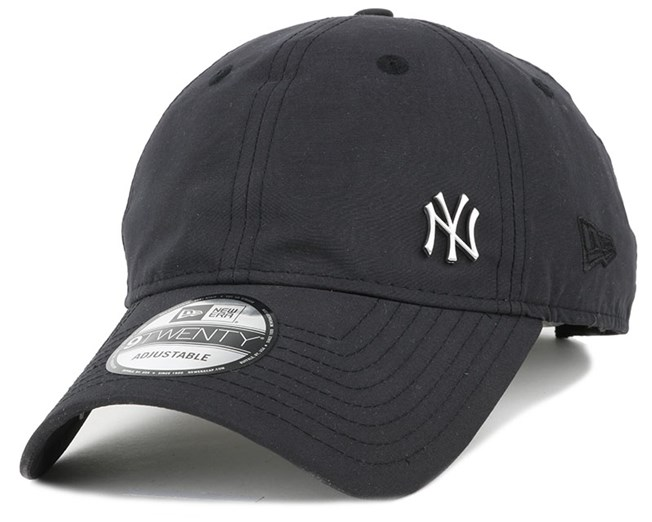 best service 7a6e7 82f28 NY Yankees Flawless Logo Basic Black 940 Adjustable - New Era