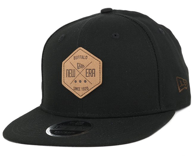 Canvas Hex Patch Black 9Fifty Snapback - New Era caps  4826322184fb
