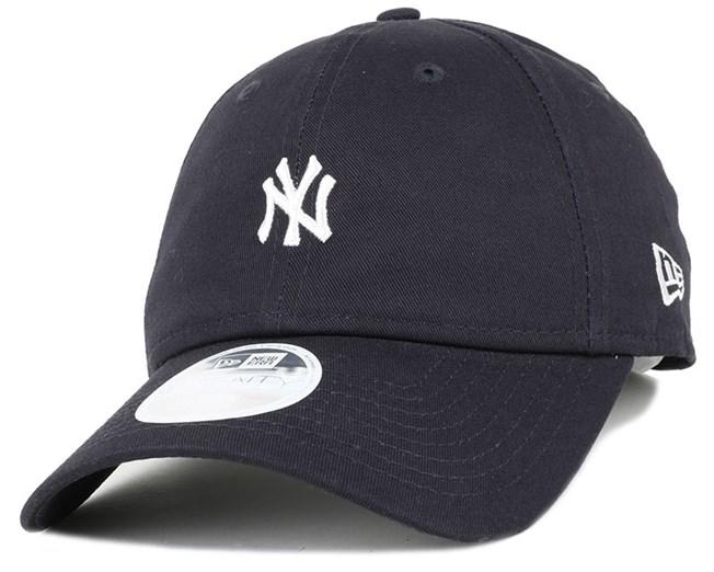 NY Yankees Mini Logo Essential Woman Navy 940 Adjustable - New Era ... 6cbcab49643