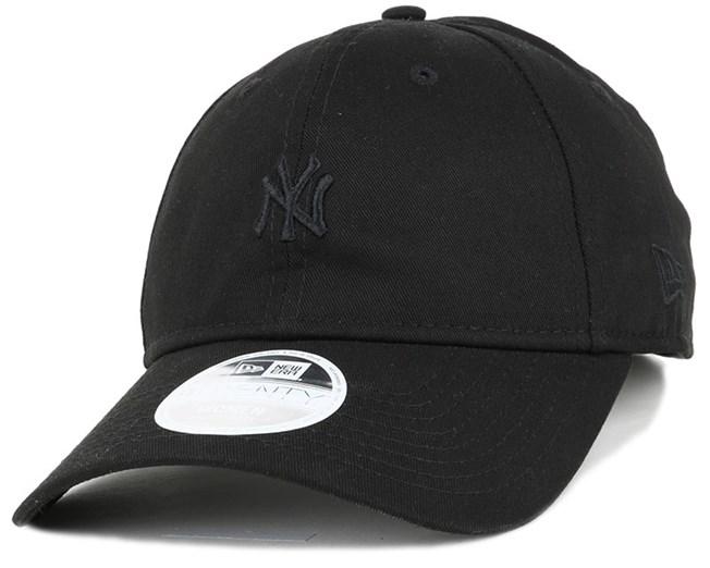 5604a8e1a12b1 NY Yankees Mini Logo Essential Woman Black 940 Adjustable - New Era ...