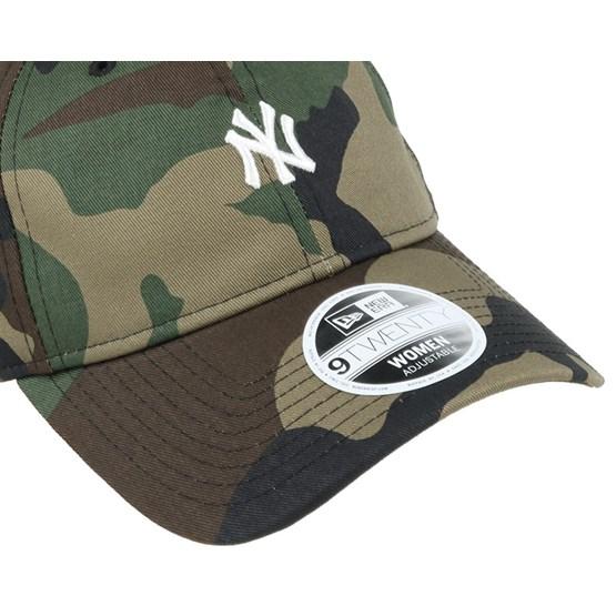 10609131 NY Yankees Mini Logo Essential Woman Camo 940 Adjustable - New Era caps    Hatstore.co.uk