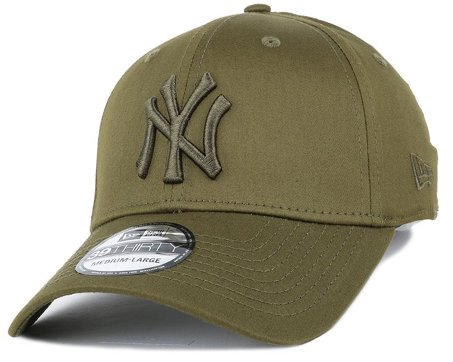 1f9d1c36656 NY Yankees Tonal League Essential Rifle Green 39Thirty - New Era ...
