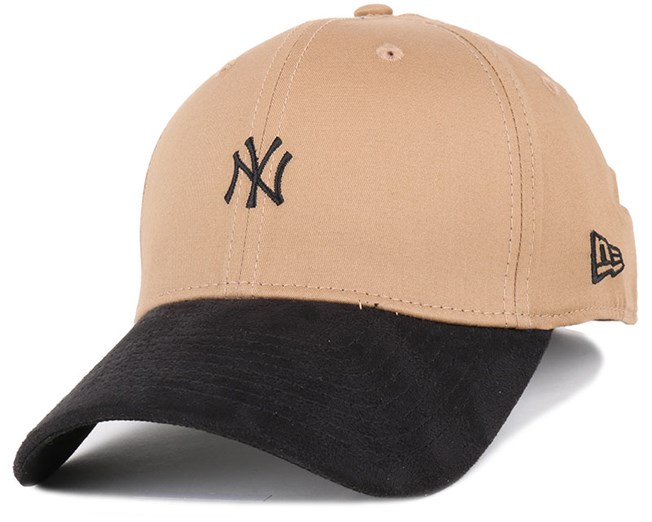 d025ffc0 NY Yankees Suede Viz Mini Logo Wheat/Black 39Thirty - New Era caps ...