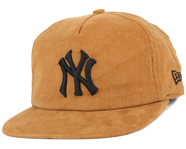 fb5db3f17fb NY Yankees MLB Coop Cord Wheat 9Fifty Snapback - New Era caps ...