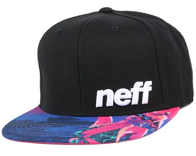 a0ef86034c1 Daily Pattern Black Hifi Snapback - Neff caps - Hatstoreworld.com