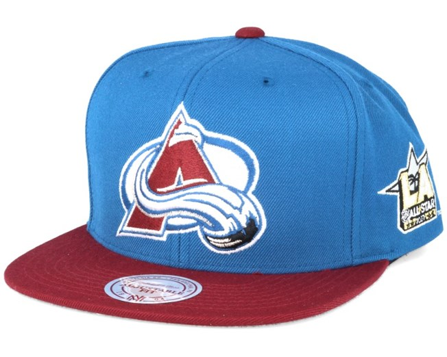 efdd59a72d8 Colorado Avalanche NHL 2017 ASG 2T Snapback - Mitchell   Ness caps ...