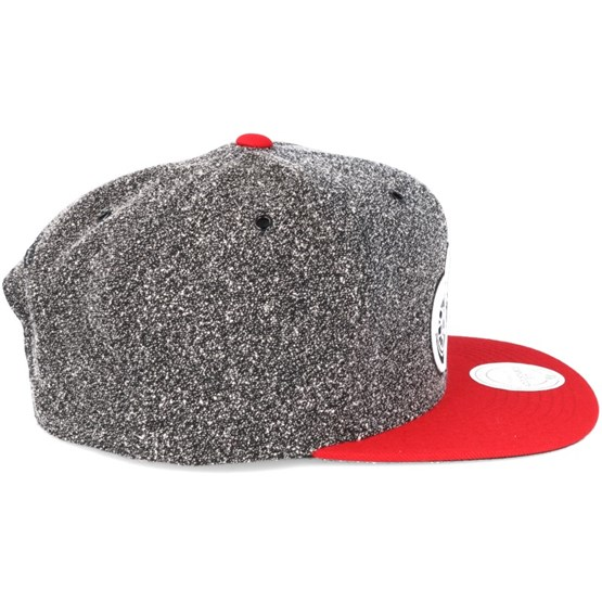 low priced 08263 dc640 Detroit Red Wings Black Olive Static Snapback - Mitchell   Ness caps -  Hatstoreworld.com