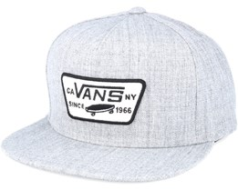 Full Patch Heather Grey Snapback - Vans