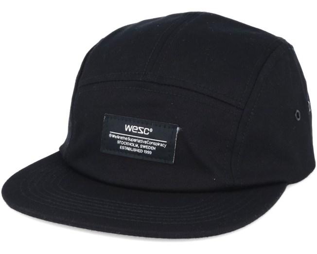 1b676c91697  ProductAttribut.cap  från WeSC Solid Black 5-Panel - WeSC