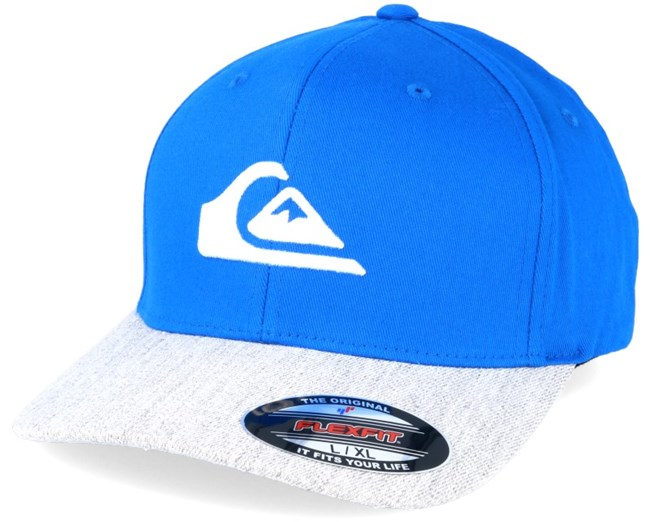new concept b3d15 63769 Mountain And Wave Imperial Blue Flexfit - Quiksilver