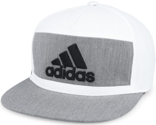 13c63ab277f Heather Block White Snapback - Adidas caps - Hatstore.no