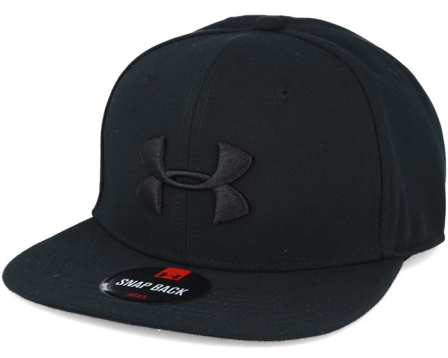 Huddle Black Snapback - Under Armour